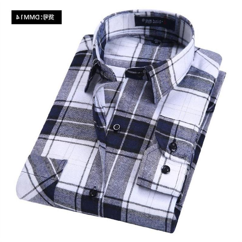 100% Cotton Plaid Spring Casual Soft Comfortable