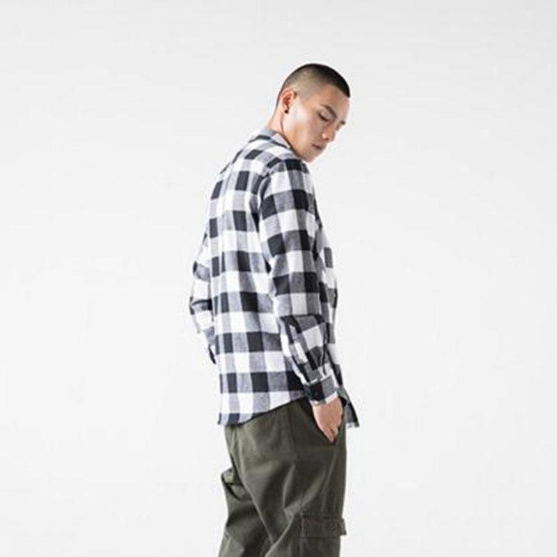 2018 Hot Sale Fashion Men Long Sleeve Warm Cotton Slim Fit Camisa Plus Size