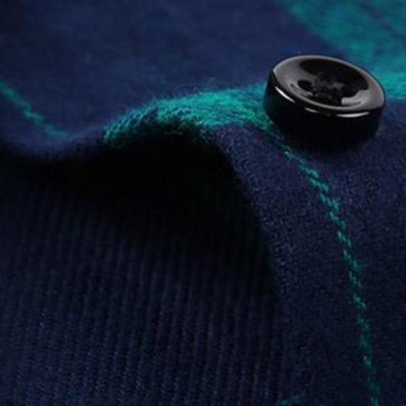 2018 Sale Men Warm <font><b>Shirts</b></font>,Plaid Cotton Camisa Size S-<font><b>4XL</b></font>