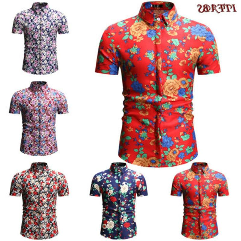 2019 new brand men s short sleeve