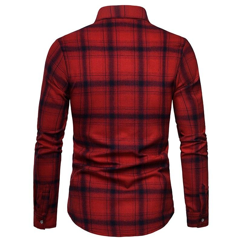 2019 casual <font><b>shirt</b></font> <font><b>men's</b></font> long casual soft breathable