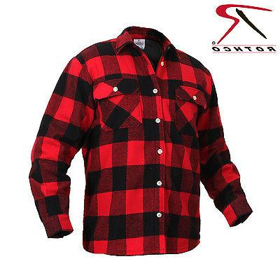 Rothco Flannel Shirt Plaid