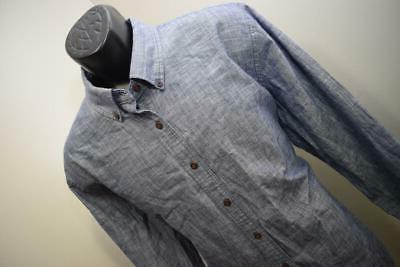33721 Saltwater Relaxed Slim Fit Blue Shirt