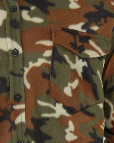3xl to Camo Flannel Shirt New Ready.. Warm with Best Offer..NEW...