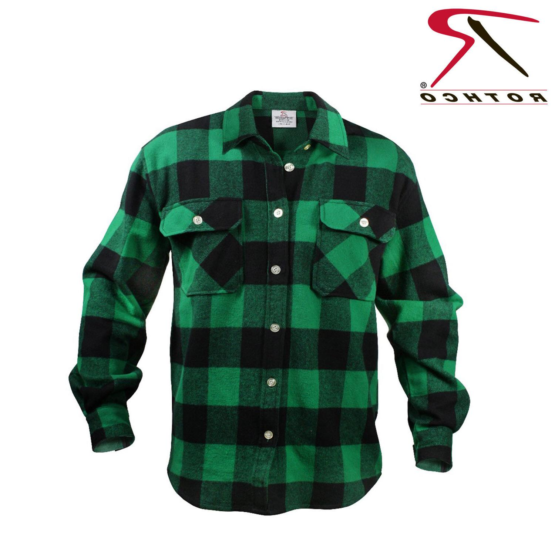 4739 extra heavyweight buffalo plaid flannel shirts