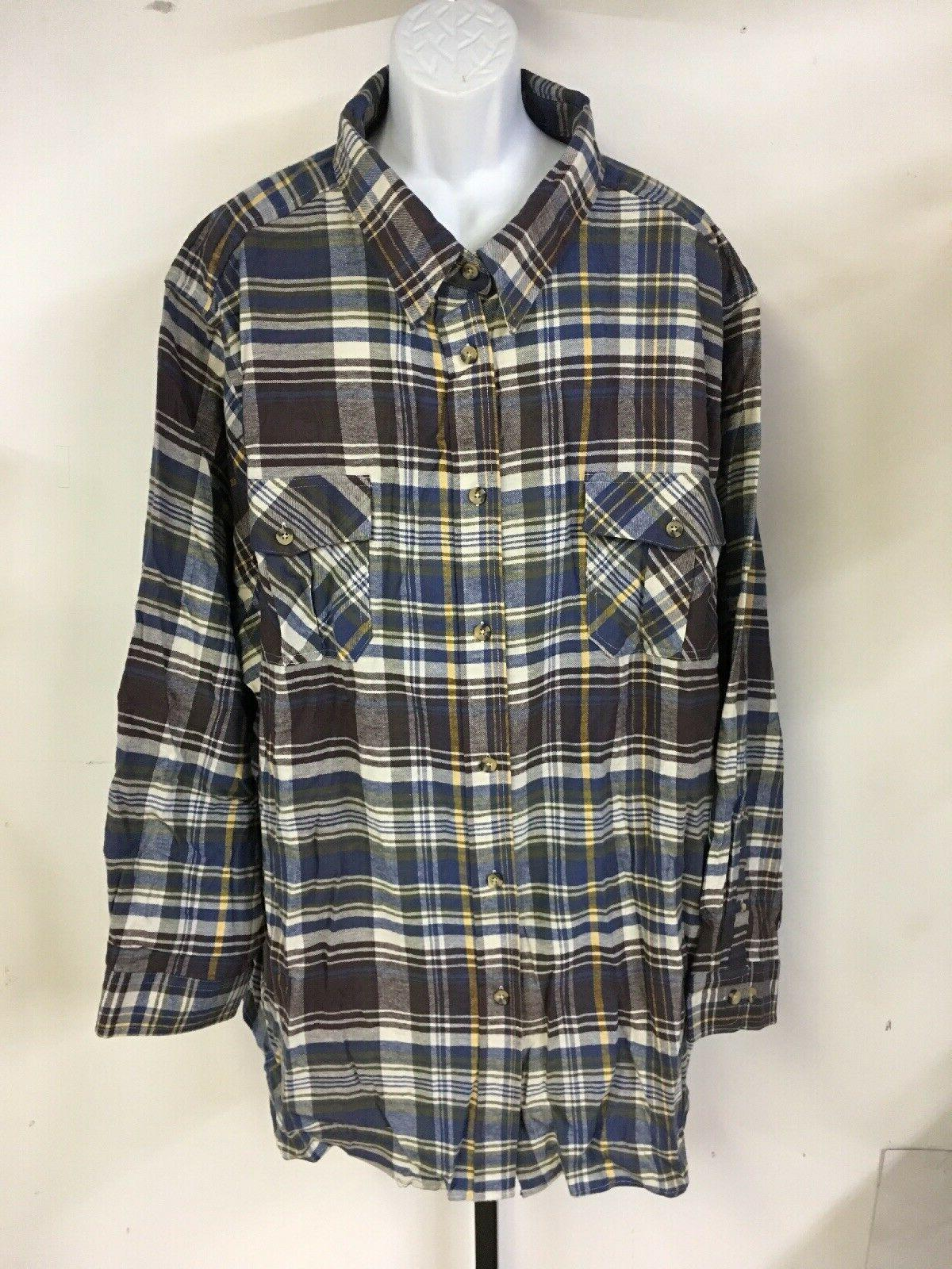 $59 KING Raisin Double-Brushed Flannel Shirt