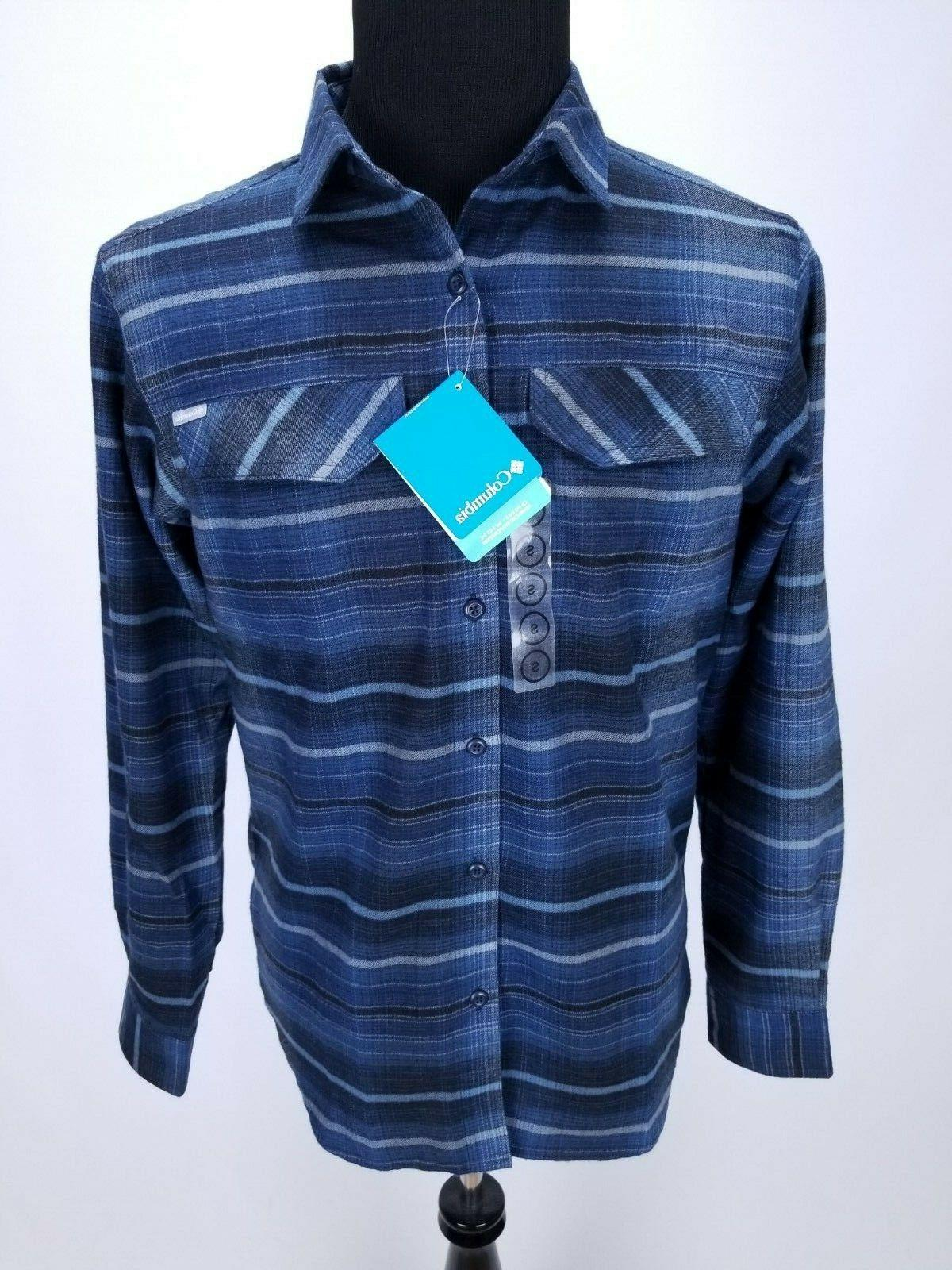 $65 Silver Ridge Flannel SMALL Front LS