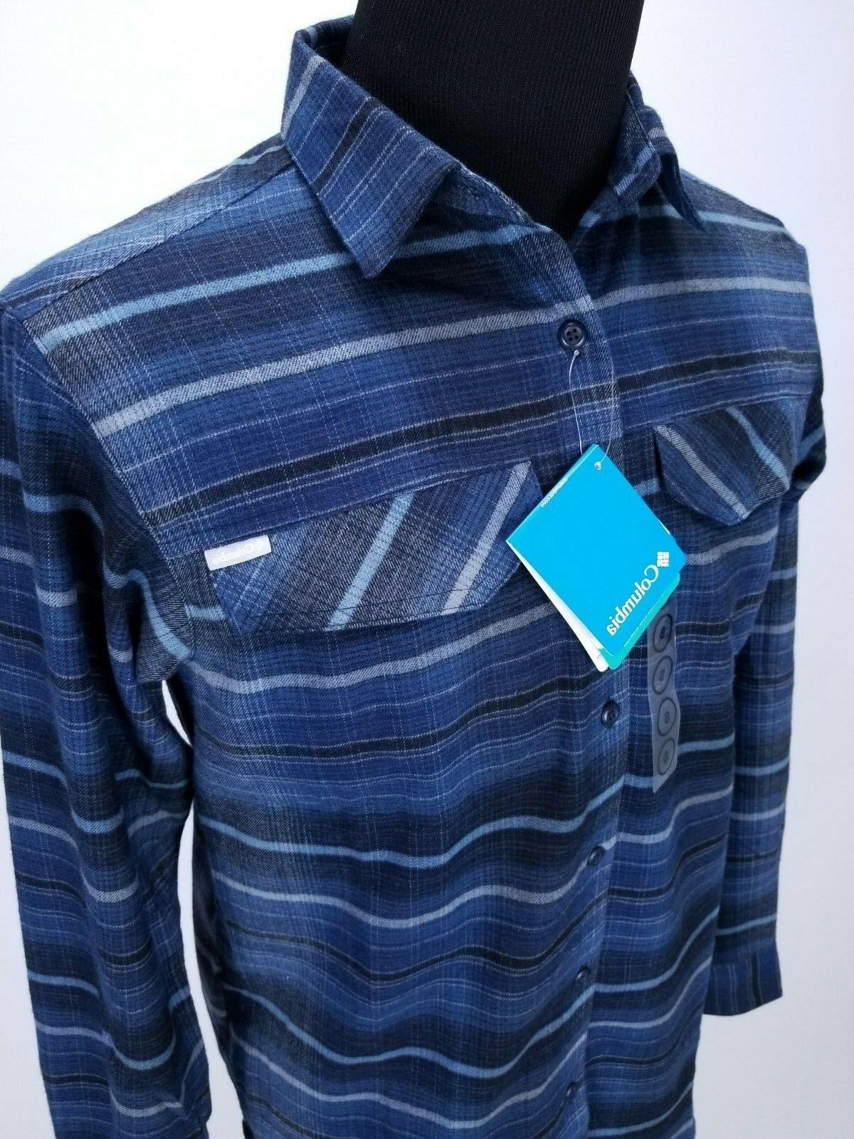 Flannel Button Front LS