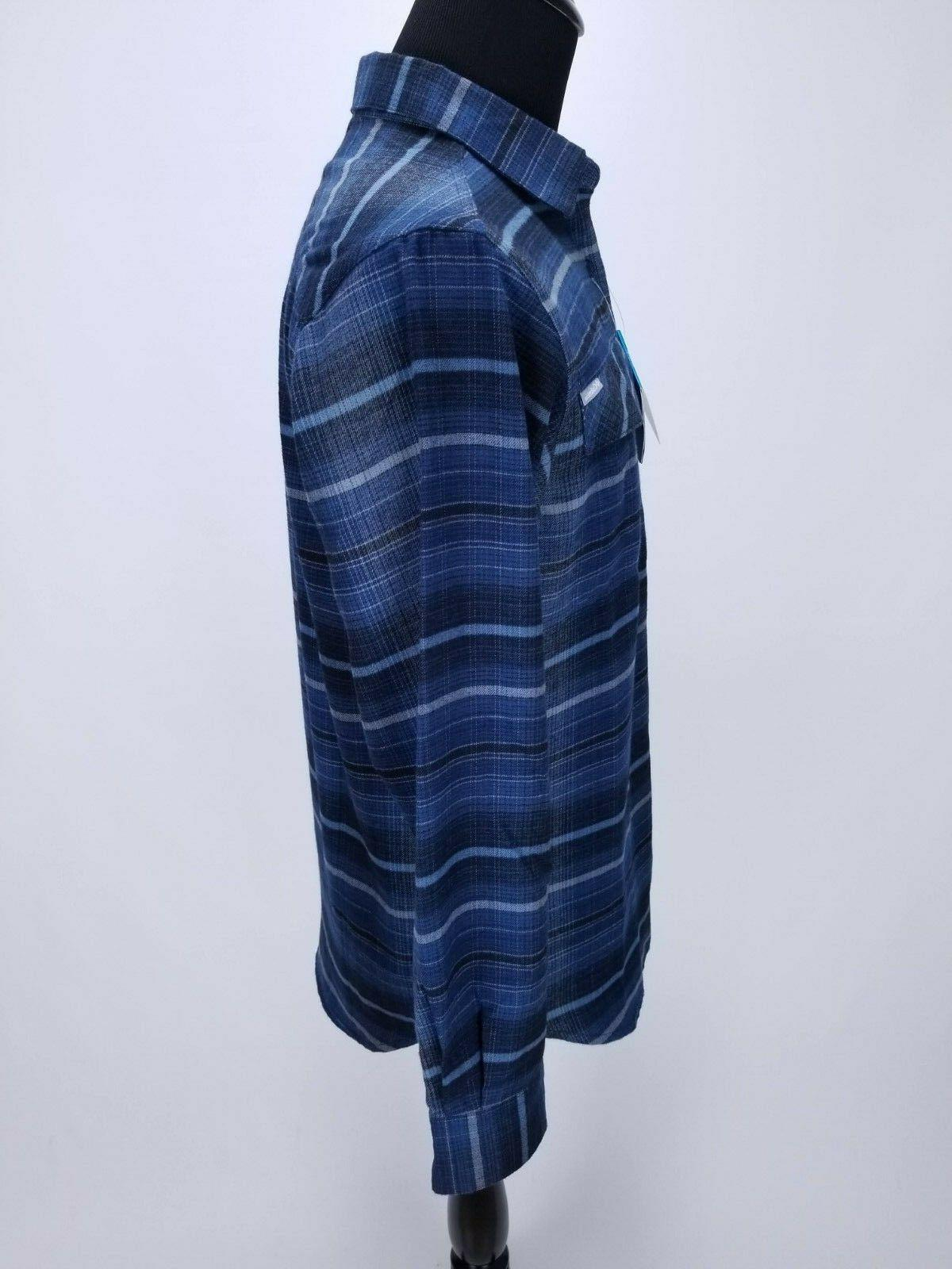 Flannel Shirt Front LS Striped