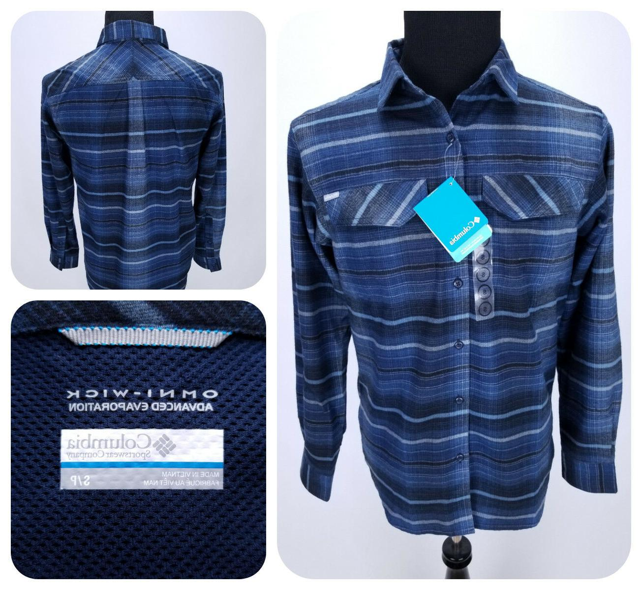 65 silver ridge flannel shirt small button
