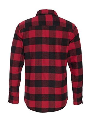 Burnside Yarn-Dyed Flannel Shirt.B8210 /
