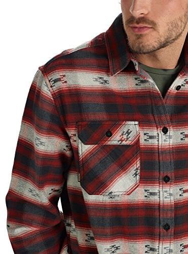 Burton Men's Flannel Fired Azrek, X-Large