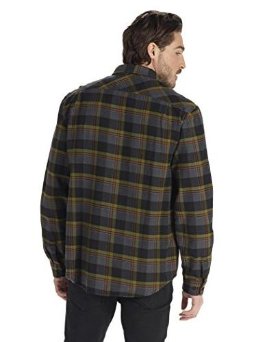 Burton Men's Flannel Down Shirt, Branch Hawthorn, Medium