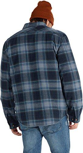 Burton Brighton Flannel Top, Eclipse Plaid, Large