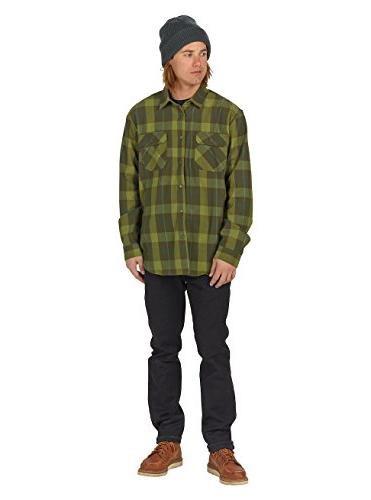 Burton Brighton Flannel Night Boxelder, Large
