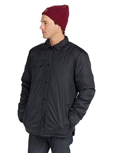 Burton Men's Wayland Shirt, Black, Large