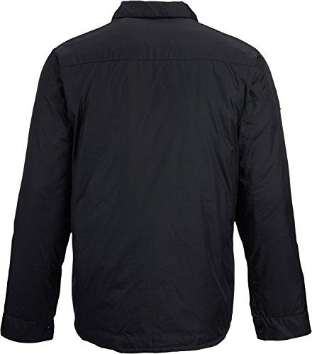 Burton Men's Wayland Down Shirt, True Black, Large