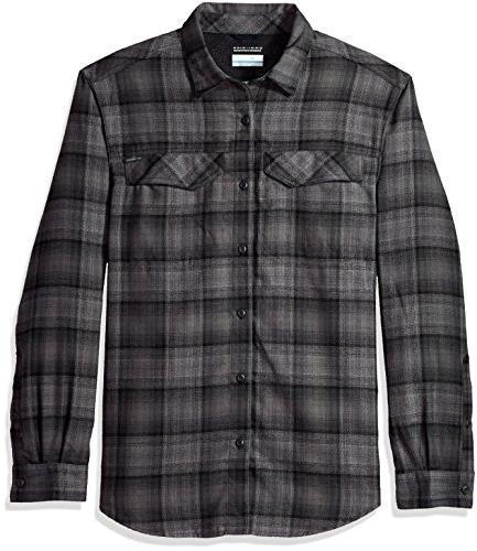 Columbia Men's Silver Ridge Flannel Long Sleeve Shirt, Mediu