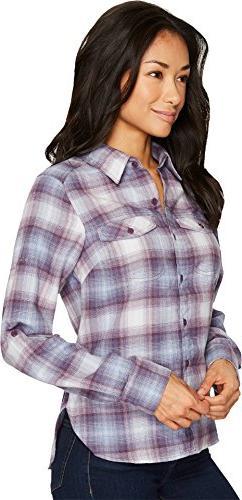 Columbia Ridge Sleeve Flannel, Ombre Medium