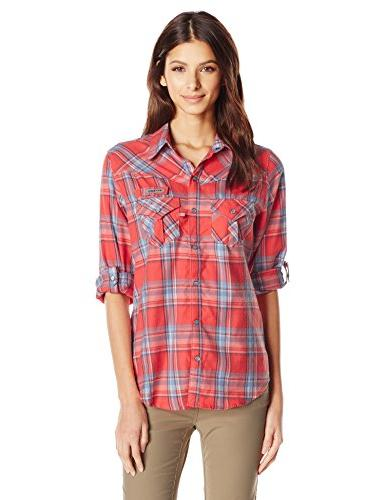 Columbia Sportswear Women's Beadhead Flannel Long Sleeve Shi