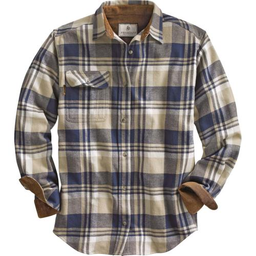 buck camp flannels shale
