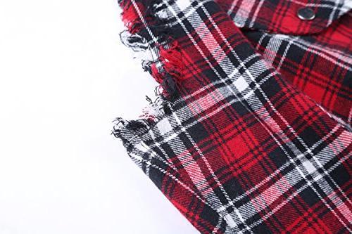 NUTEXROL Men's Plaid Plus Vest