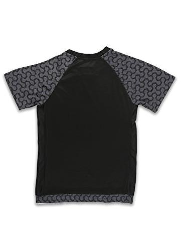RBX Active Mesh Short Sleeve T-Shirt with Midnight Combo