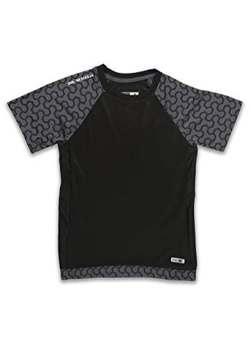 RBX Active Boy's Mesh Short Sleeve Performance T-Shirt with