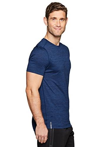RBX Active Short Athletic Navy Crew