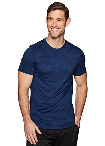 RBX Active Men's Performance Short Sleeve Athletic T-Shirt N