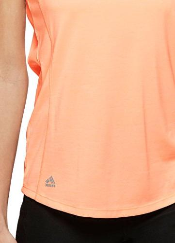 RBX Dye V-Neck Top Orange