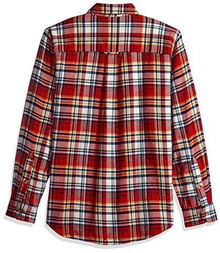 Woolrich Flannel Shirt, Ivory Small