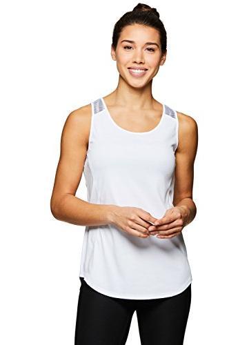 RBX Active Women's Yoga Tank Yoga White M