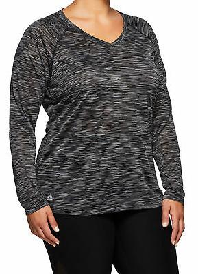 RBX Active Size Space Sleeve Shirt