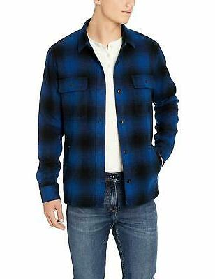 Amazon Brand - Men's Flannel Jacket