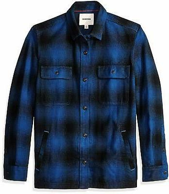 amazon brand men s heavyweight flannel shirt