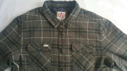RVCA Andrew Flannel Men's Quilted Large