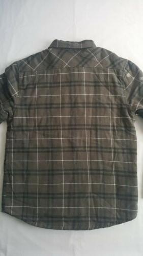RVCA Andrew Flannel Shirt Large