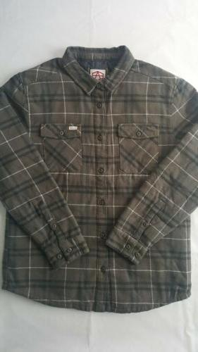 andrew reynolds plaid flannel men s quilted
