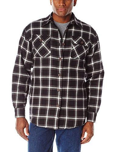 authentics men s long sleeve quilted lined