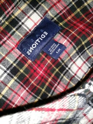 Basic Editios Soft Flannel XLT Tall Cotton Pocket