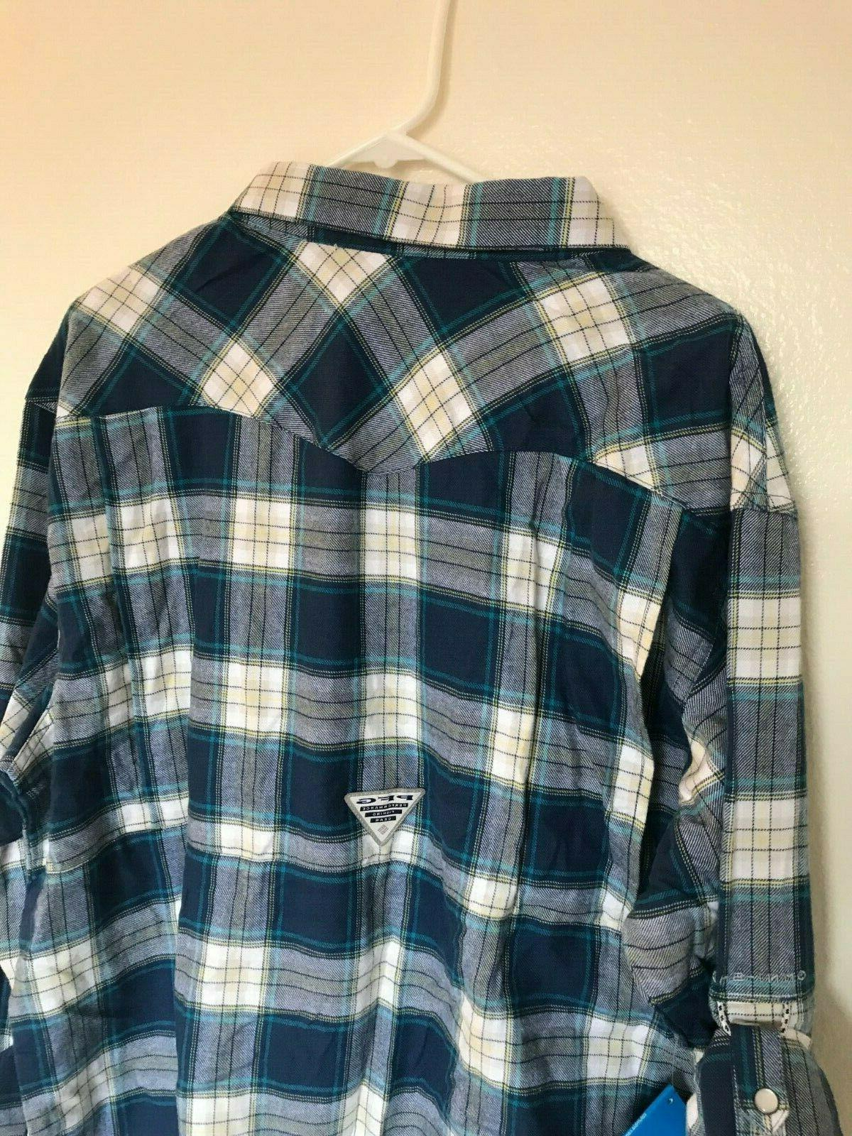 Columbia Flannel Sleeve Size X Large NWT