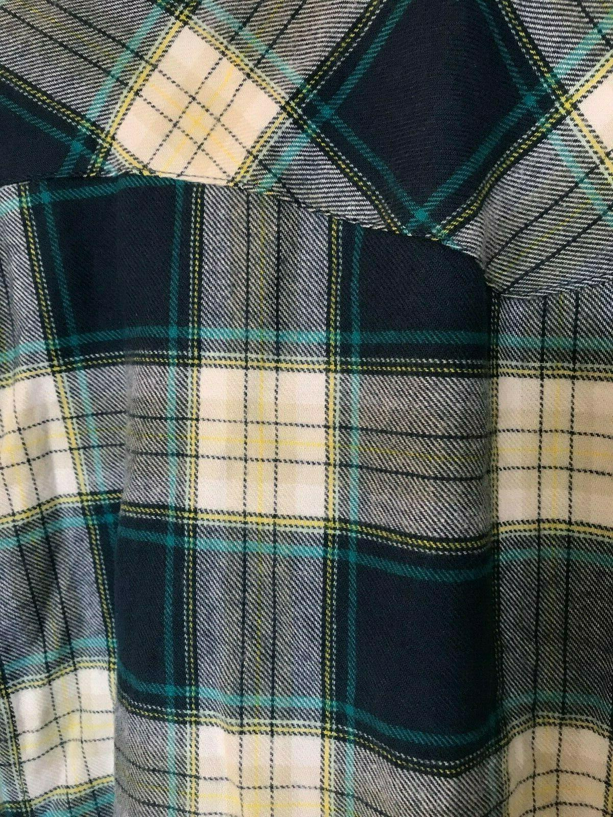Columbia Flannel Long Sleeve Mens Shirt X NWT