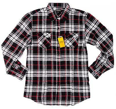 big boys long sleeve flannel shirt