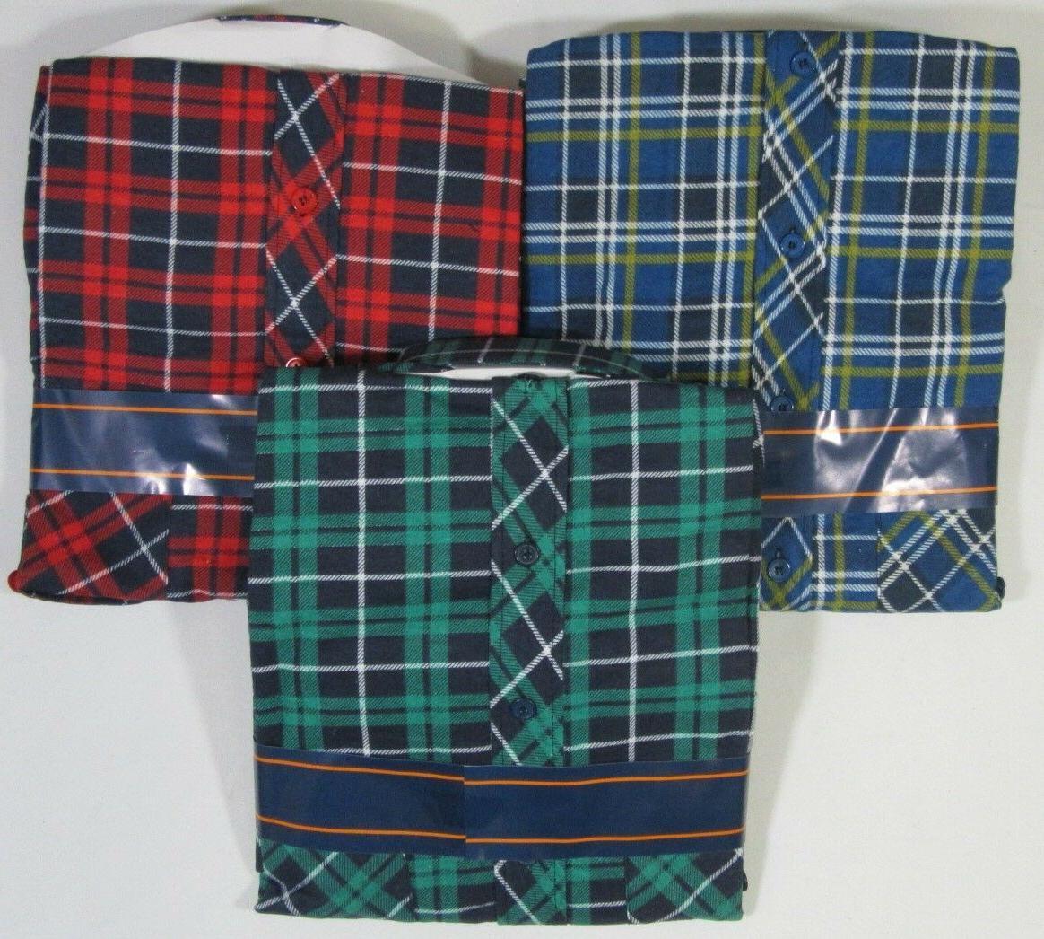 Big Mens Cotton Kingsize Flannel