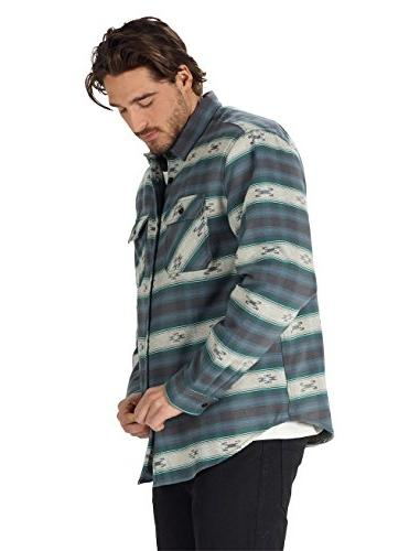 Burton Brighton Burly Flannel Sweater, La Azrek,