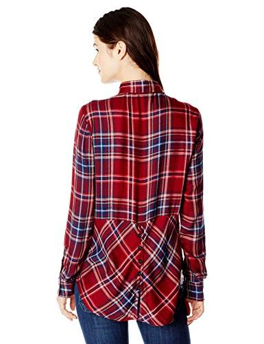 Lucky Women's Bungalow Flannel Red/Multi, Large