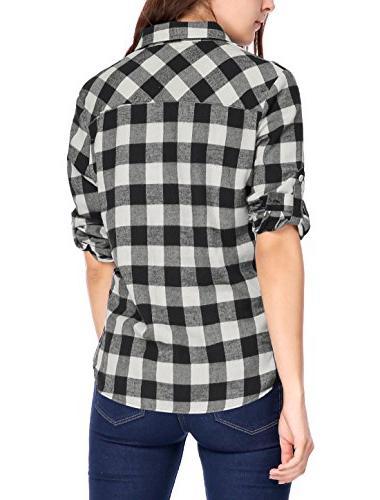 Up Collar Shirt Black XS