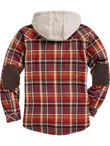 Legendary Whitetails Hooded Flannel Plaid X-Large