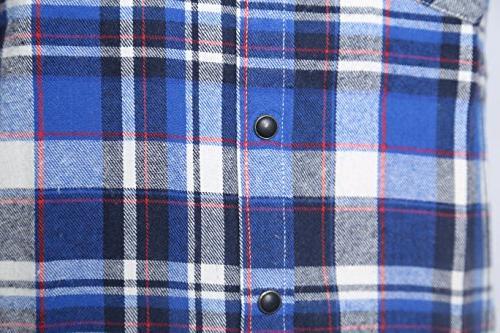 NUTEXROL Plaid Plus Size Vest and White